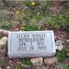 Lucien Henderson - 1857-1880 - Accidentally shot at slaughterhouse