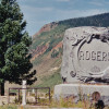 Charles and Mary Rogers Family Plot Their son, Bert, froze to death in 1911 on Molas Pass