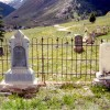 Thomas Tovey - 1884–1902, age 17 yrs, Killed in snowslide/ Eunice Bawden - Died 1892, age 7-1/2 mos.